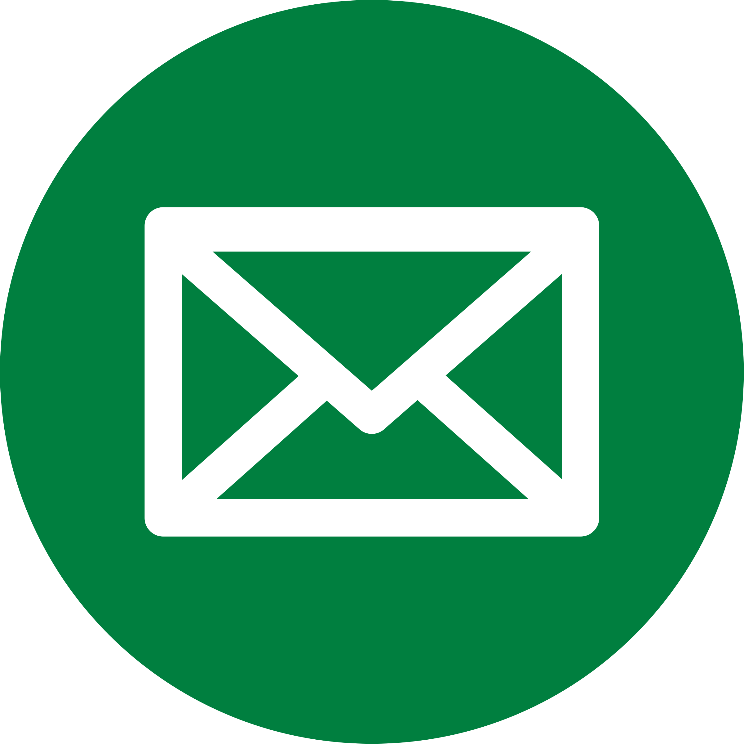 Email icon png green. Clipart mail big image