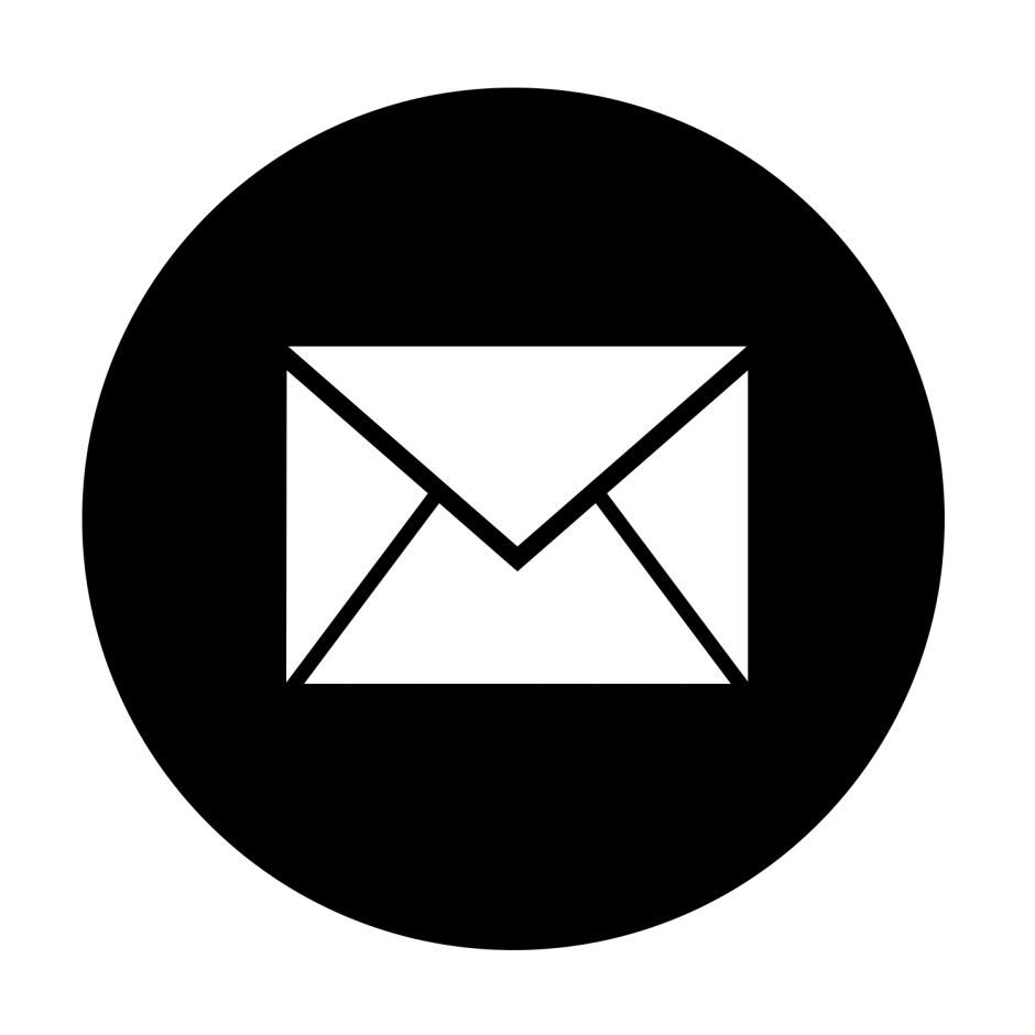 E-mail logo png. Email black pictures trent
