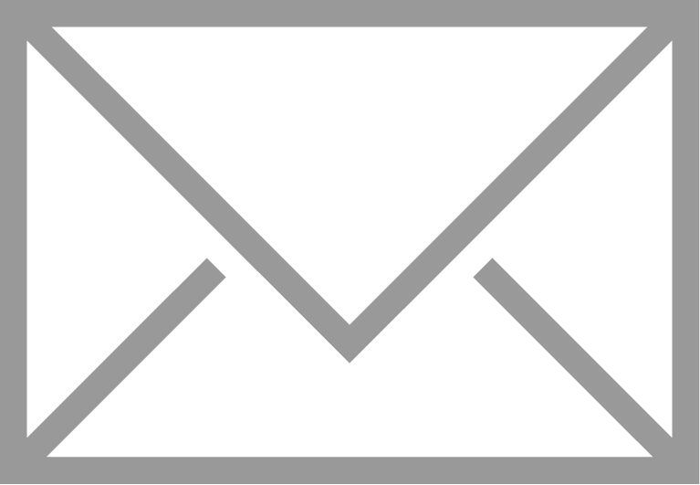 Email logo white png. Icon robert russell law