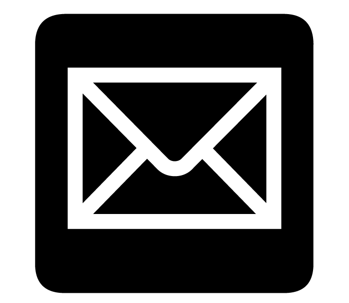 Email logo white png. File aiga mail inv