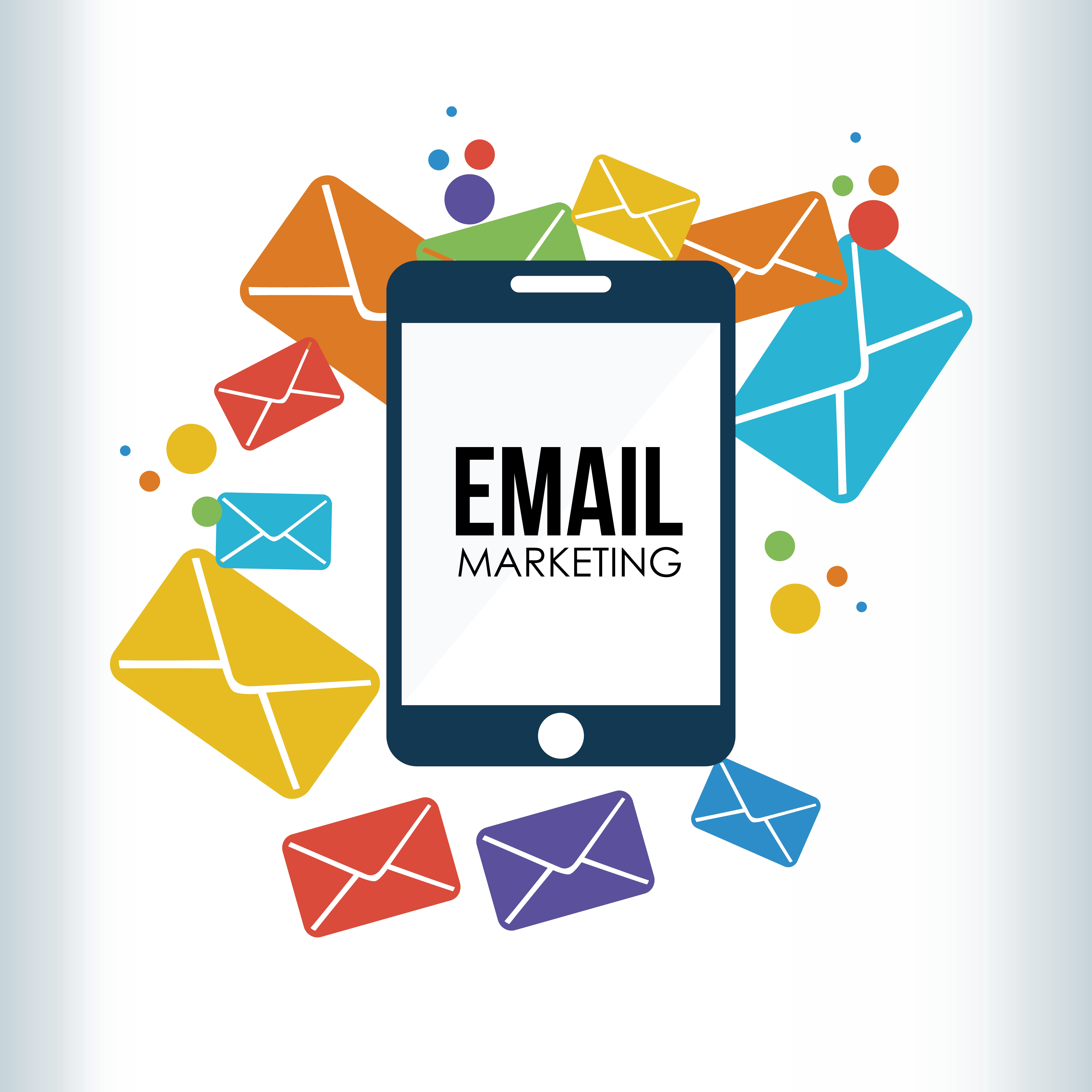 Email marketing png. High quality image vector