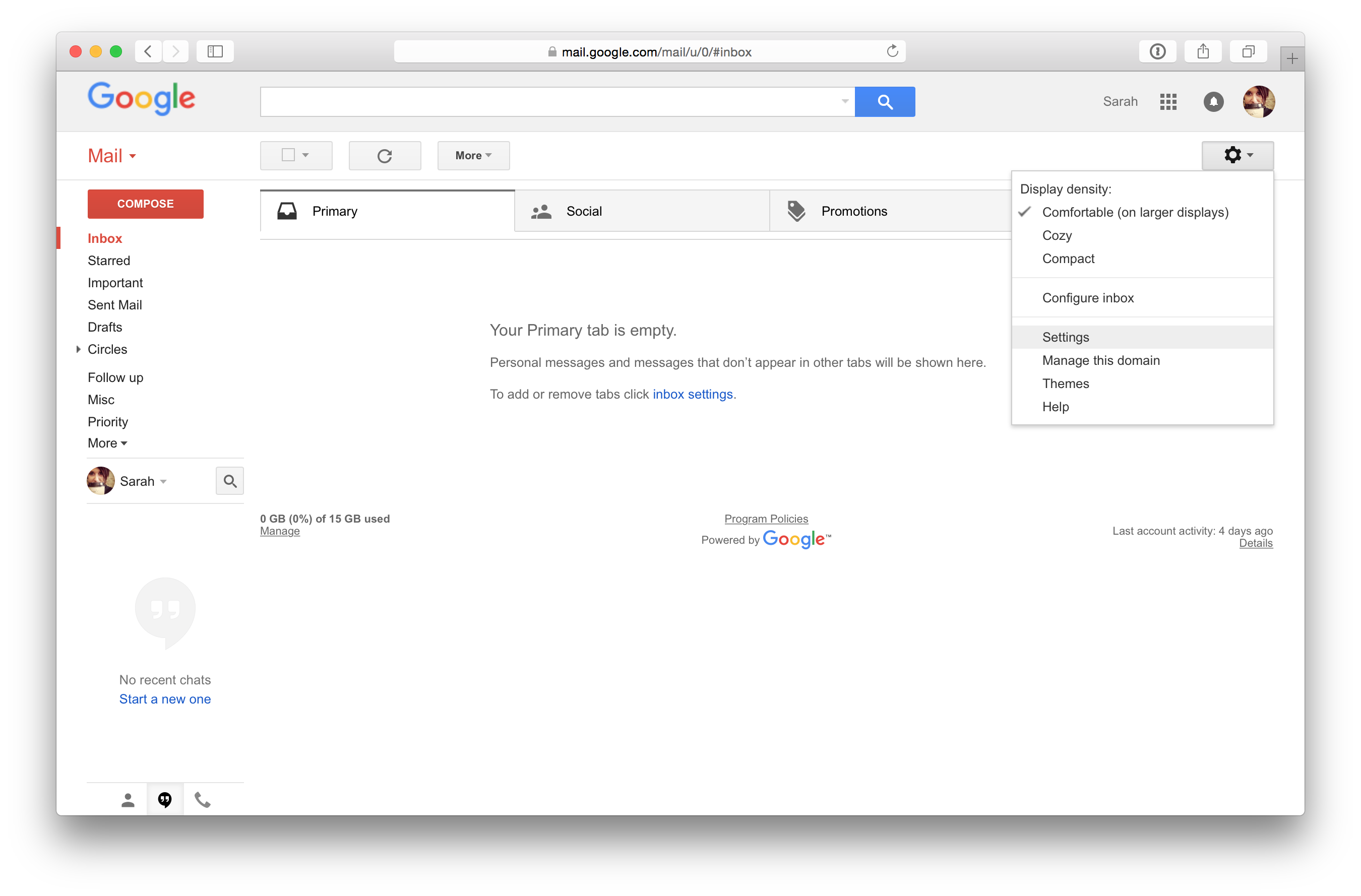 How to get png in gmail signature. Install an html email