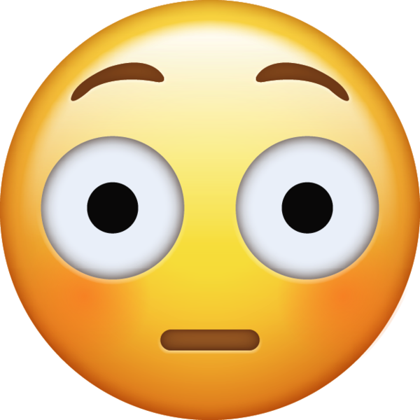 Embarrassed emoji png. Download flushed iconiphone icon