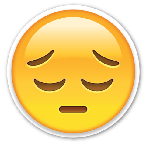 Embarrassed emoji png. The ashamed guilty as