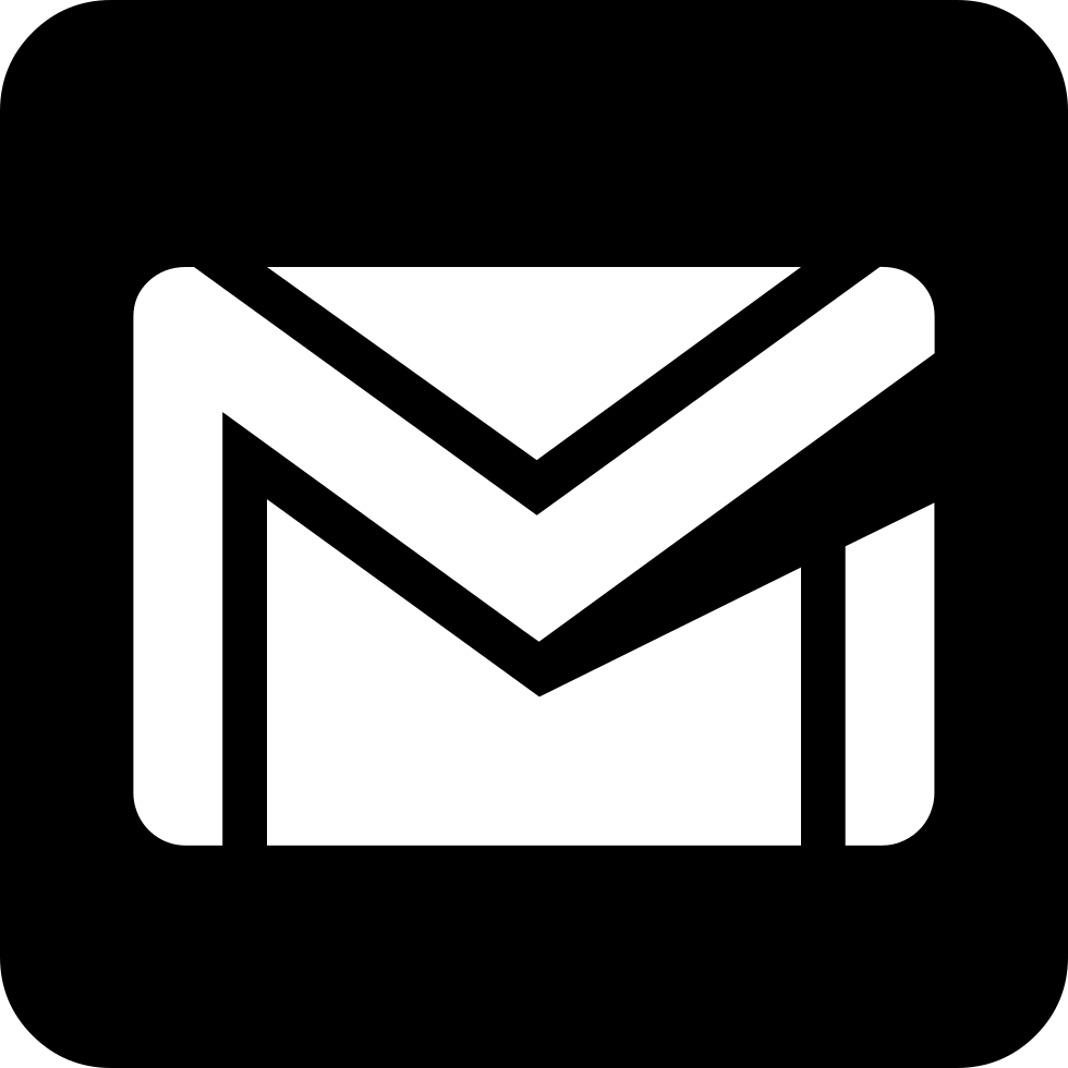 gmail icon png white
