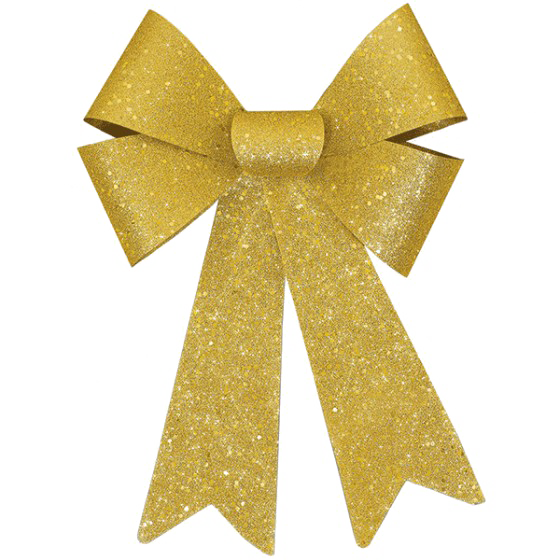 Vector glitter gold pattern. Bow ribbon png picture