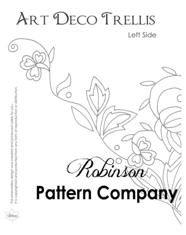 Embroidery Drawing Template Transparent & PNG Clipart Free Download