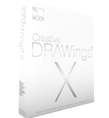Embroidery drawing creative. Drawings software box