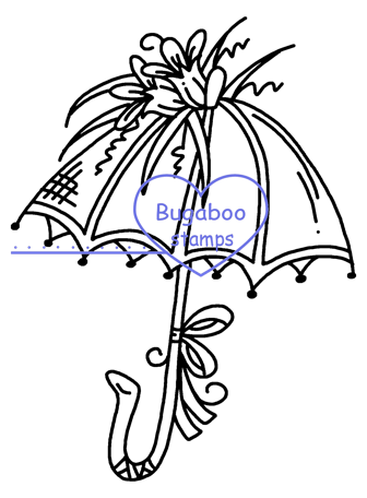 Embroidery drawing embroidered. Fancy umbrellas umbrella hand