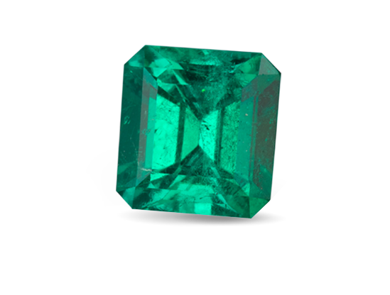 Transparent minerals greenish blue