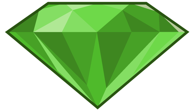 Emerald vector. Stone png hd clipart
