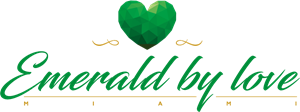 Emerald vector. By love logo ai
