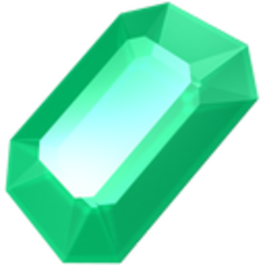 Emerald vector. Icon free images at