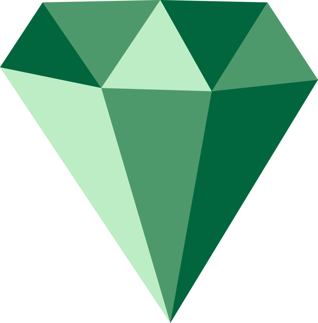Emerald vector garnet stone. Png transparent images all