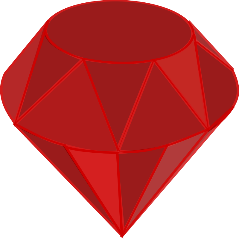 Emerald vector ruby stone. Red png transparentpng image