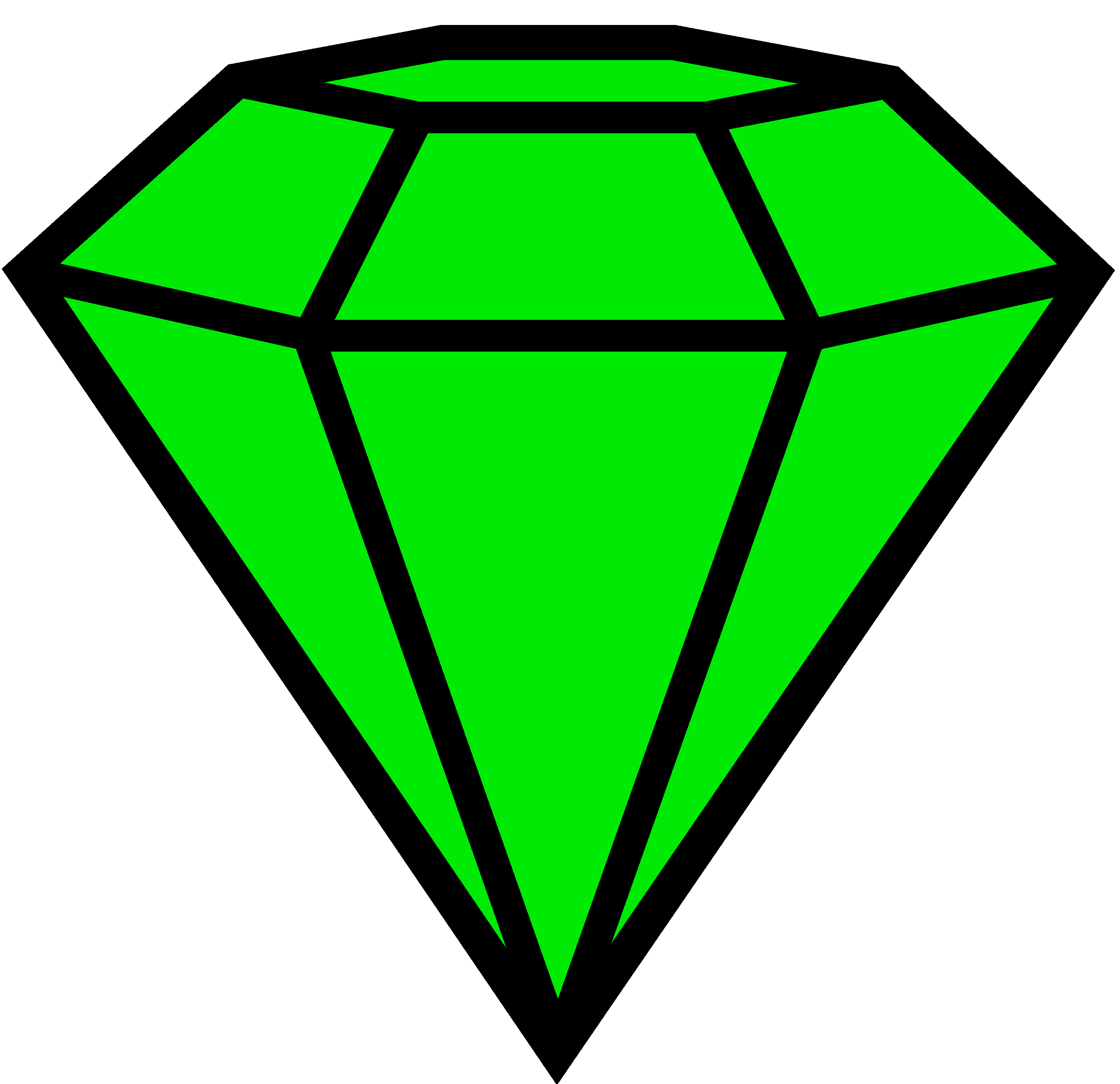 Collection of free emeraud. Emerald vector stone image library
