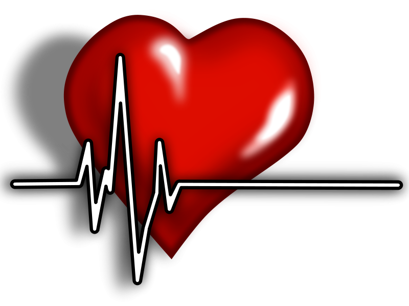 Cardiac nurse . Heart clipart person black and white