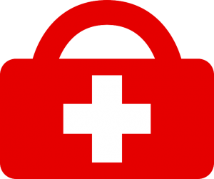 First aid kit clipart extra battery. What to put in