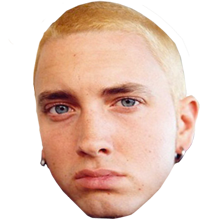 Rap o matic overlay. Eminem face png banner library stock