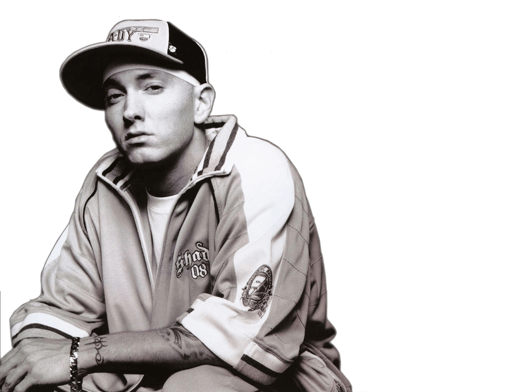 Bw transparent stickpng. Eminem face png clip art black and white library