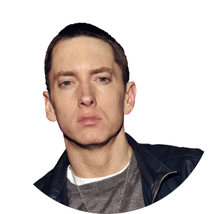 Eminem face png. Nd annual grammy