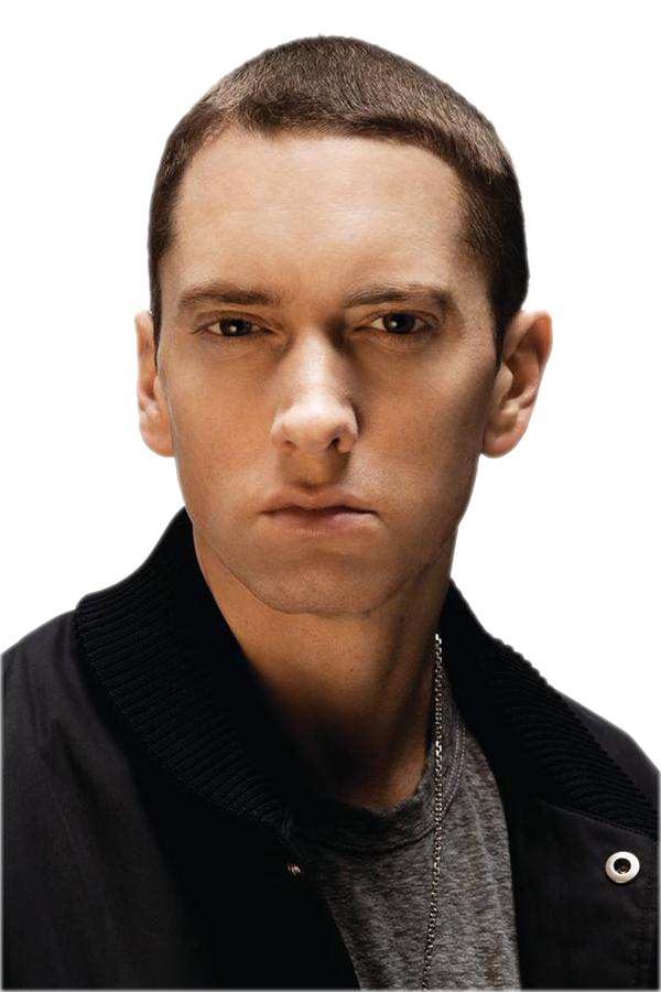 Eminem face png. Cutout by chrisneville on
