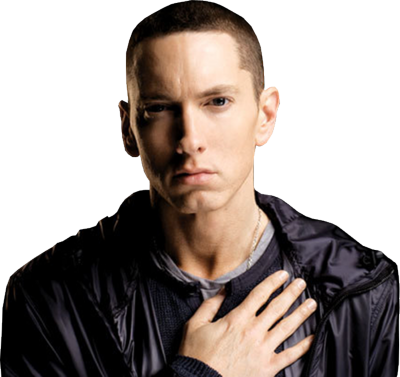 Eminem head png. Psd detail hand on