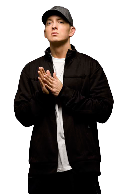 Eminem png. The rap god transparent