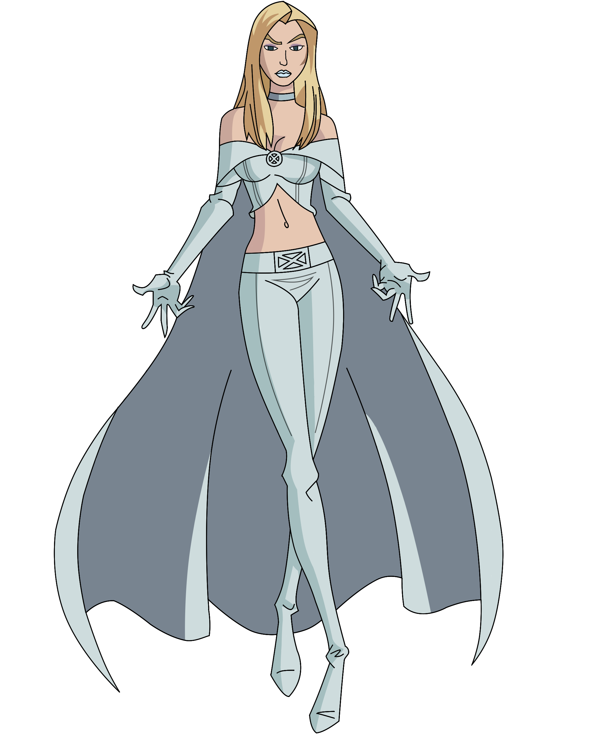 Frost transparent drawing. Image emma by trdaz