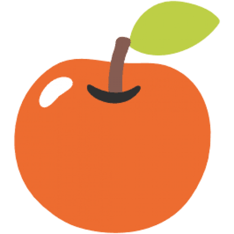 Emoji clipart apple. Download android red png