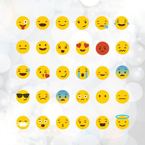 Emoji clipart file. Svg files yellow smiley