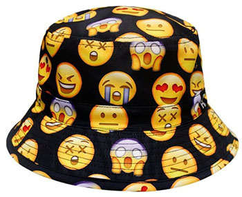Emoji clipart hat. Bucket the worst things