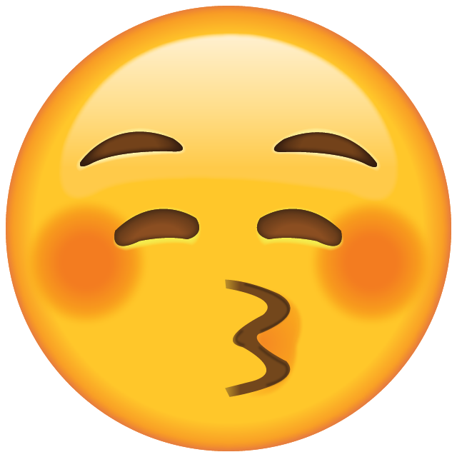 Faces pictures island kiss. Apple emoji png download png black and white