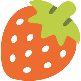 Emoji clipart strawberry. Android