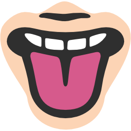Emoji clipart tongue. Android
