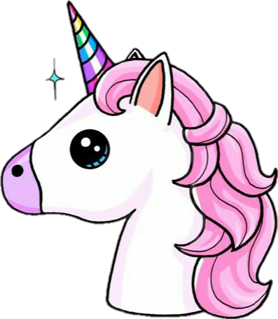 Emoji clipart unicorn. Colorful magic sticker by
