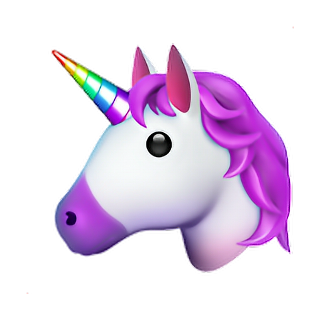 Emoji clipart unicorn. Iphone emojiiphone png sticker