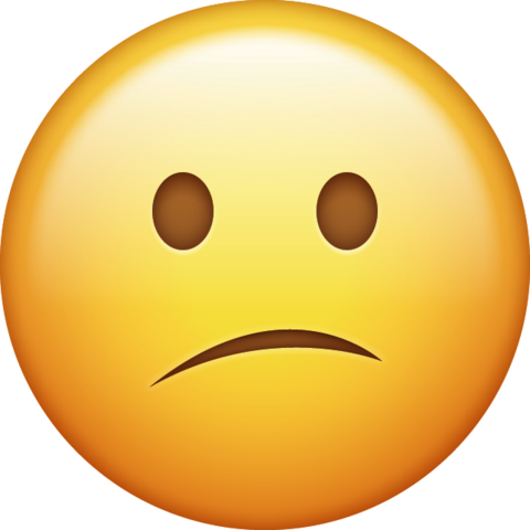 Emoji confused png. Download face iphone icon