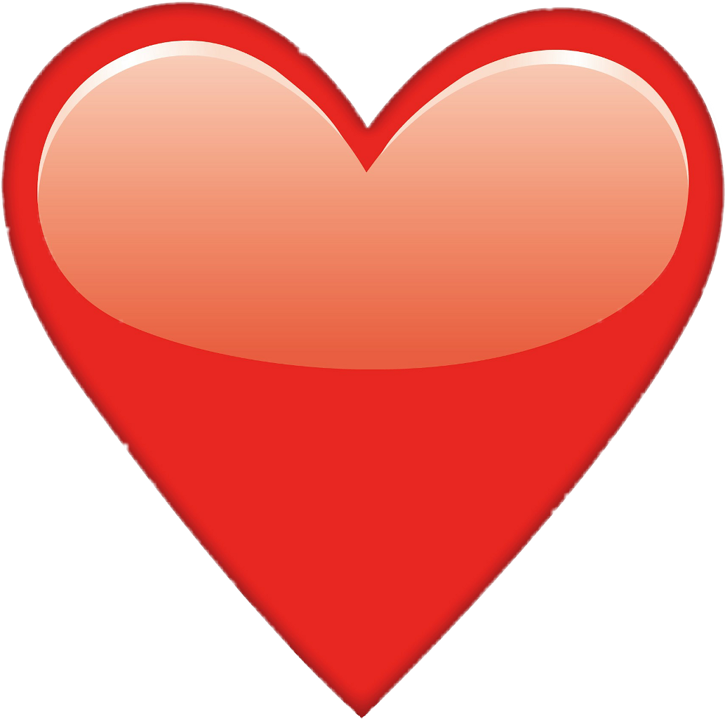 Emoji corazon png. Heart red rojo sticker
