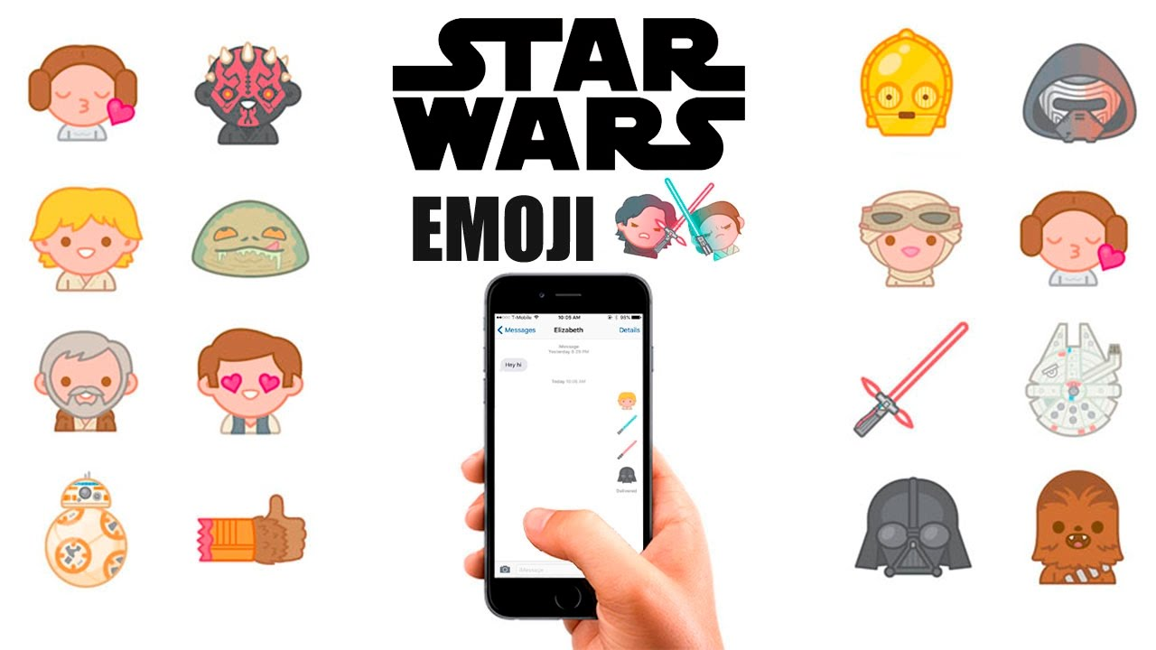 Emoji download. Star wars keyboard for