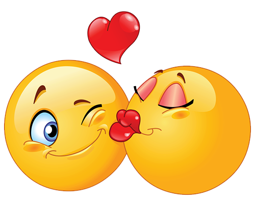 Emoji kiss png. Smiley pic mart
