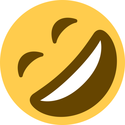 Emoji laughing png. Image rolling on the