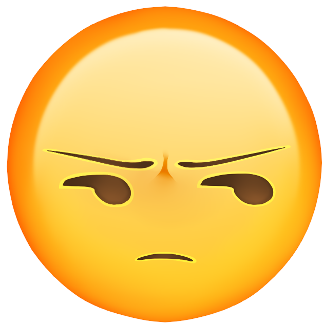 Emoji png. Pissed by justlookfromgermany on