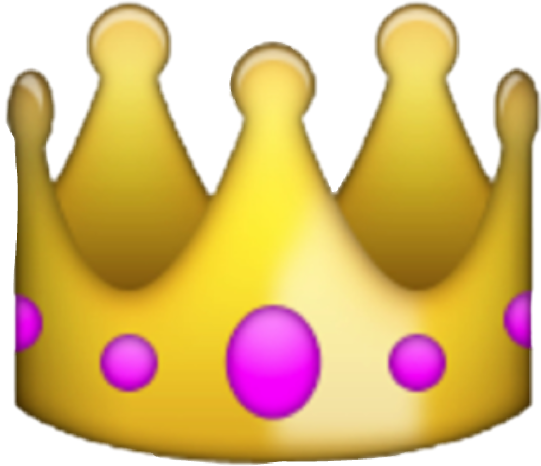 Emoji png crown. Images in collection page