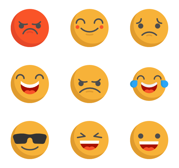 Emoji png. Icon packs vector