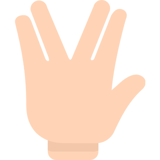 Emoji png finger. Raised hand with part