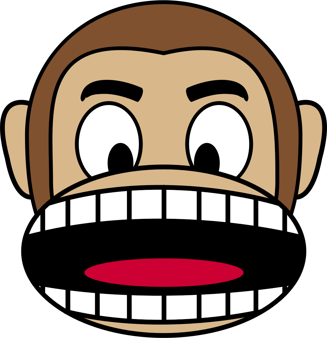 Emoji png monkey. Angry icons free and