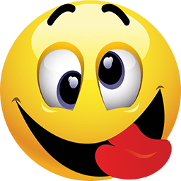 Emoji tongue png. Smiley face with out