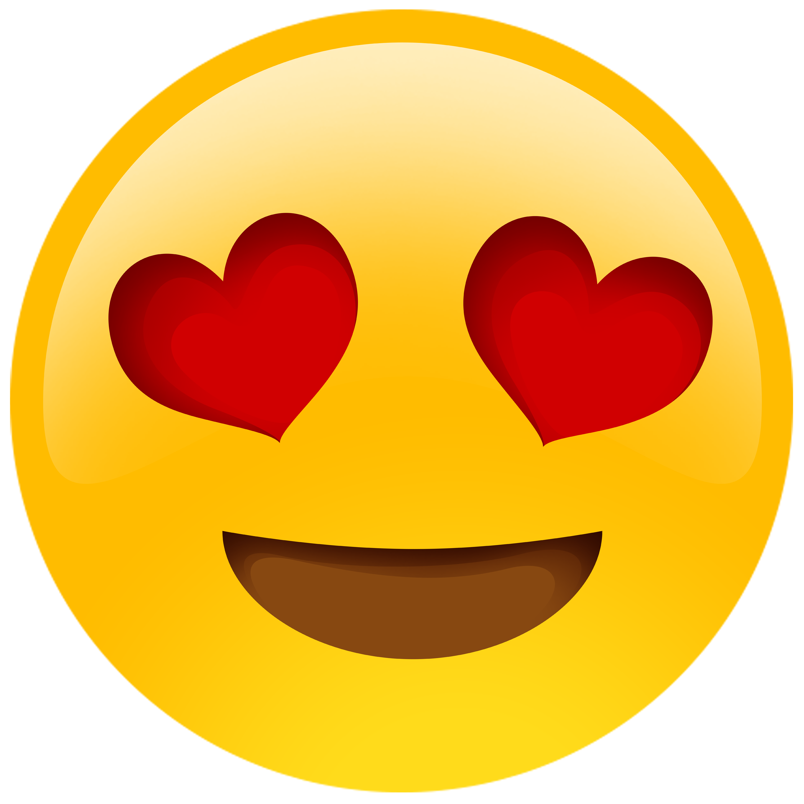 Emoji tongue out png clipart. Pack heart eyes