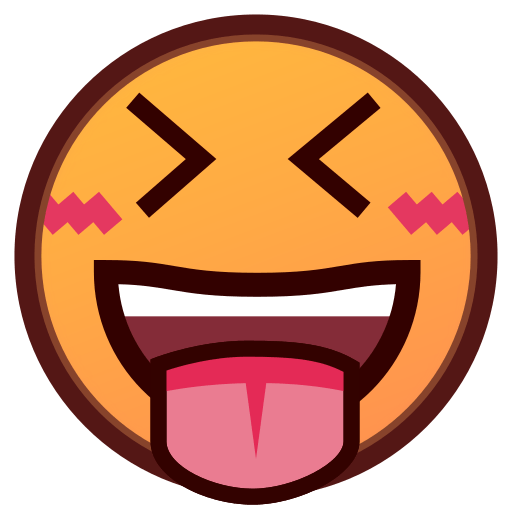 Tongue sticking out emoji png. Face with stuck and
